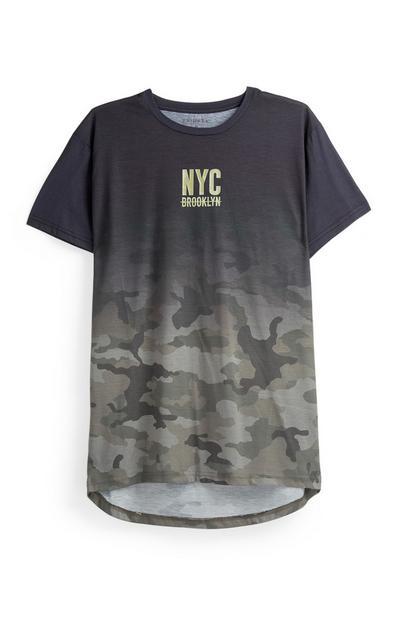 Khaki Camo Ombre T-Shirt