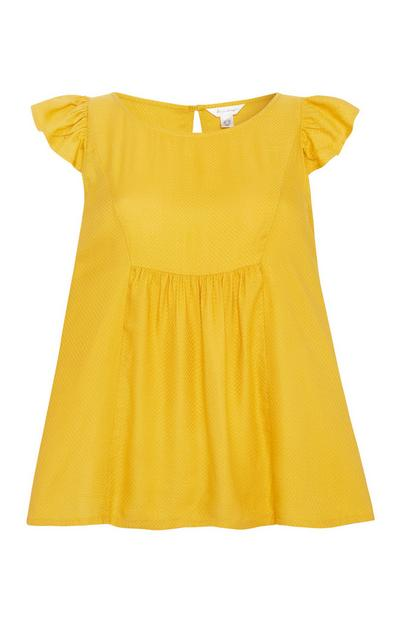Mustard Pyjama Blouse