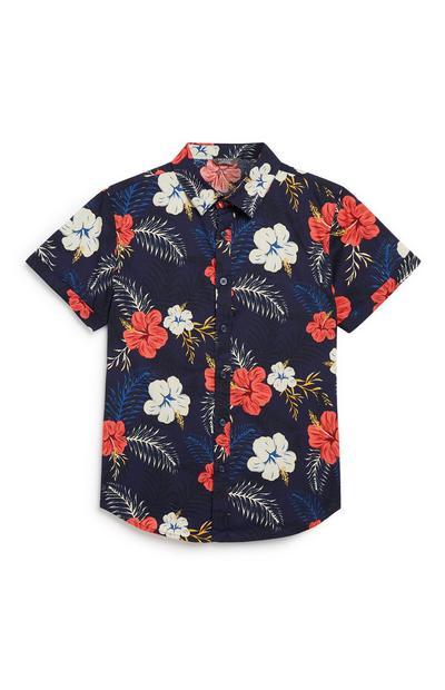 Older Boy Hawaiian Shirt
