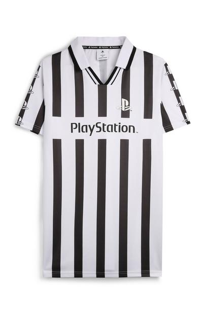 """""""Playstation"""" Poloshirt mit Streifen"""