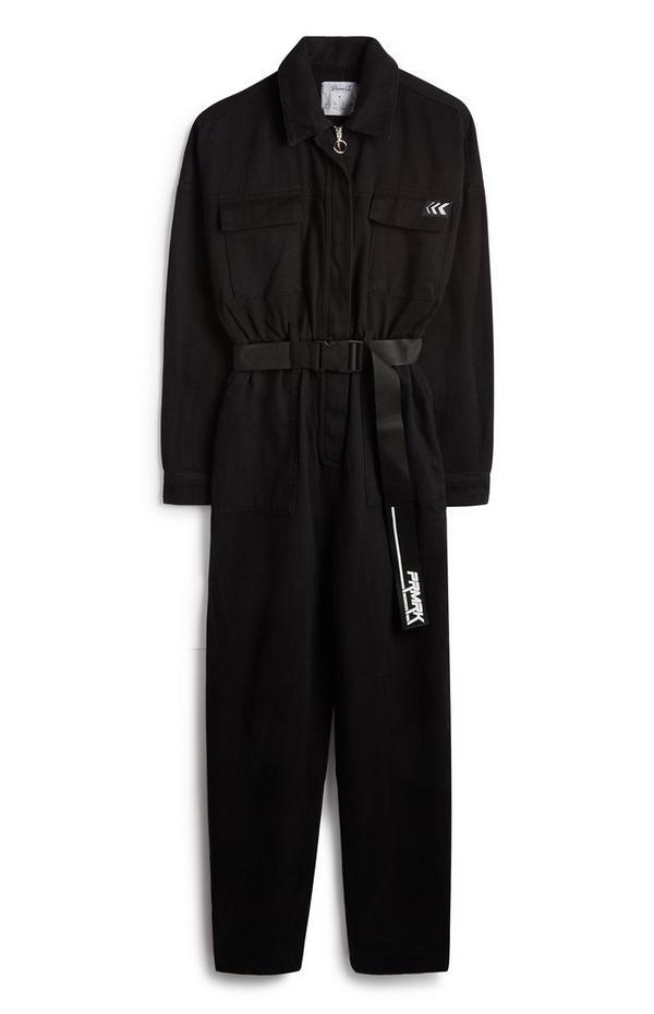 PRMRK Black Boiler Suit
