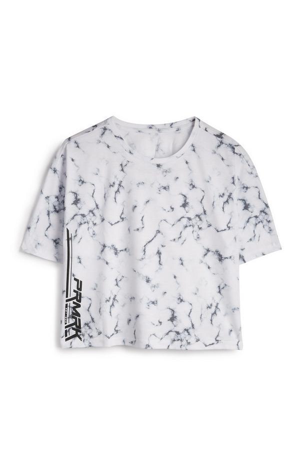 PRMRK Marble White T-Shirt