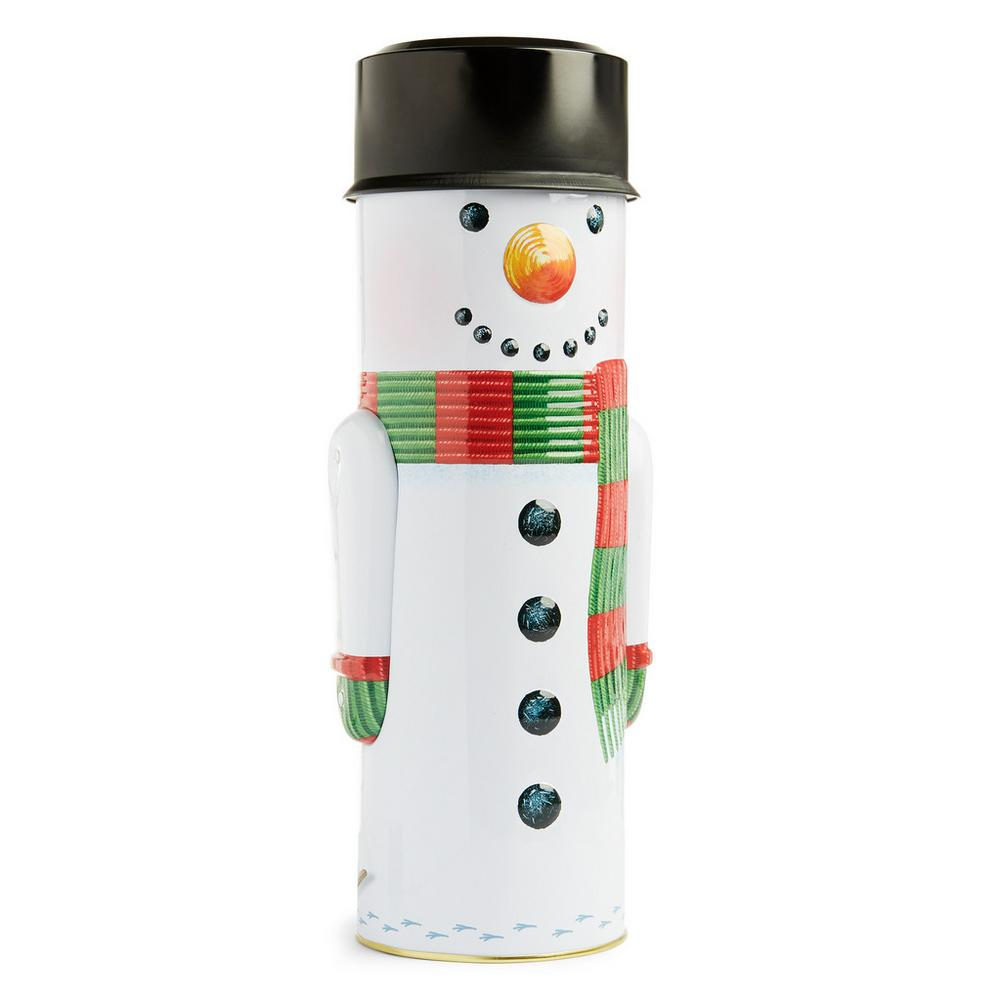Large Snowman Biscuit Tin by Primark
