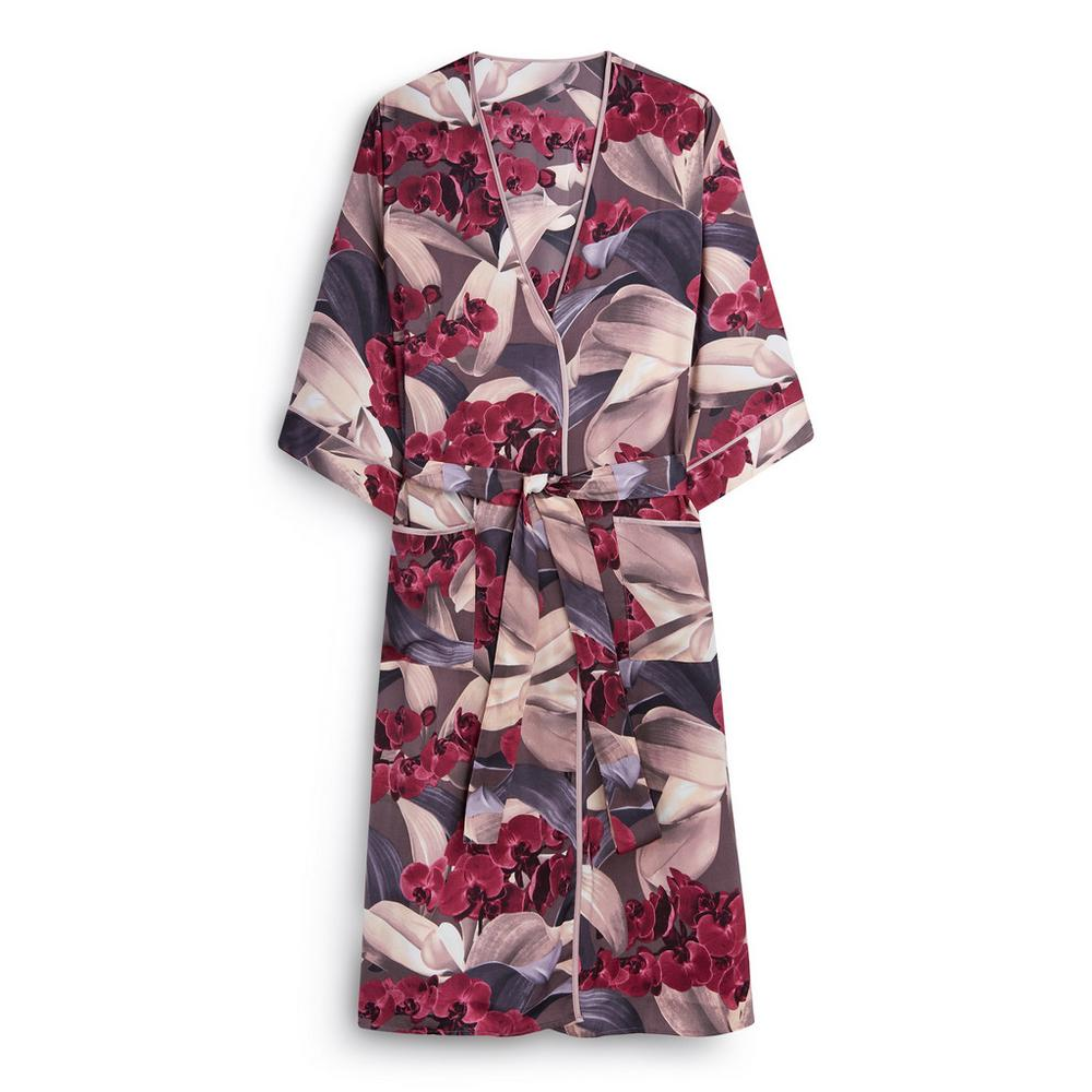 This image has an empty alt attribute; its file name is 128342894-01-Satin-Floral-Robe