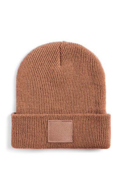 Brown Turn Up Beanie