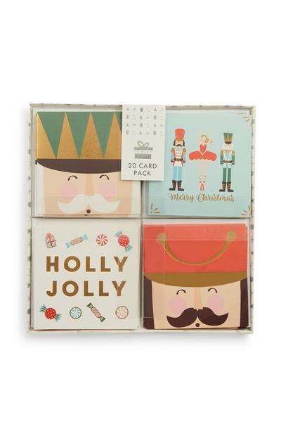 Christmas Card 20Pk
