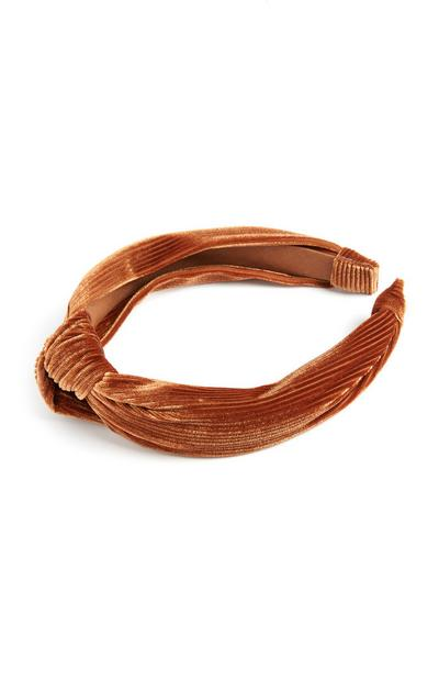 Tobacco Knot Hairband