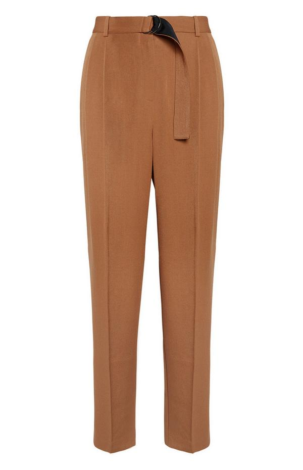 Brown Tailored Trousers