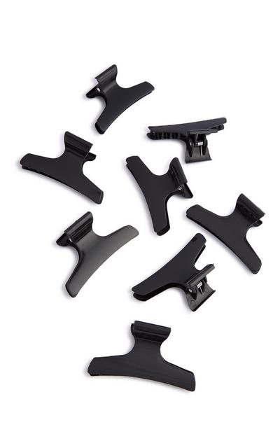 Hairdressing Clamps 8Pk