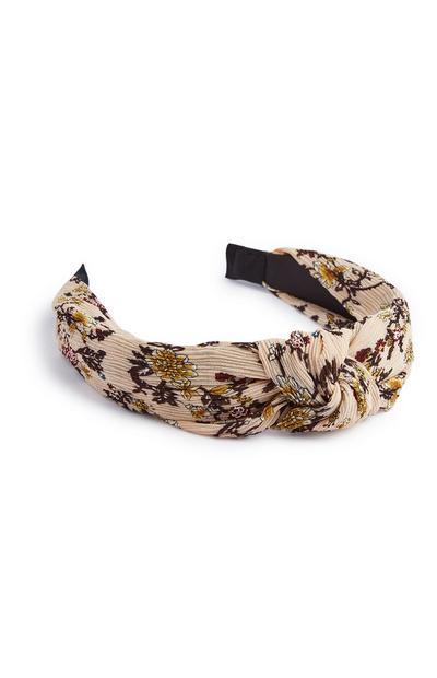 Floral Knot Headband