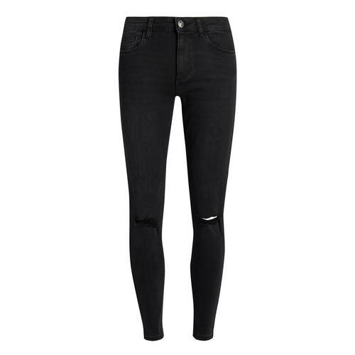 Fonkelnieuw Zwarte skinny jeans met scheuren en gaten | Jeans | Kleding GN-73