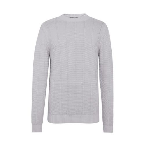 Light Gray Ladder Stitch Crew Neck Sweater   Men's Jumpers & Sweaters   Men's  Hoodies & Sweatshirts   Men's Clothing   Our Full Men's Fashion Range   All  Primark Products   Primark USA