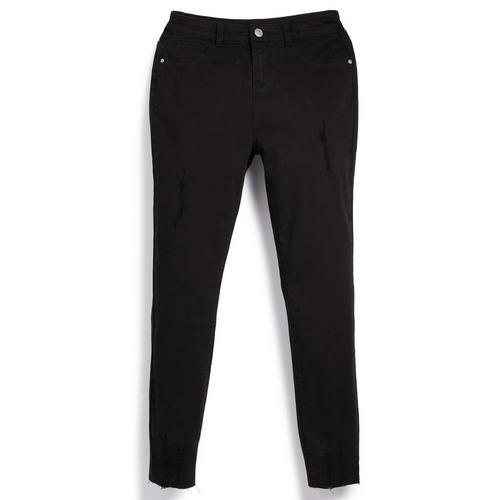 Pantalon Negro De Sarga Con Bajos Deshilachados Para Nina Mayor Moda Para Ninas Mayores Moda Para Ninas Moda Para Ninos Todos Los Productos Primark Primark Espana