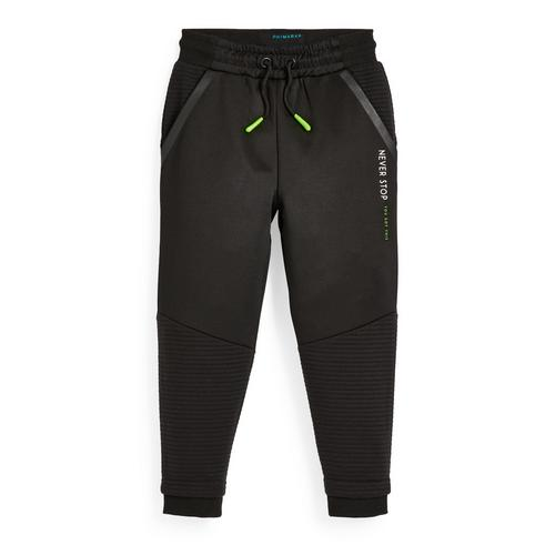 Younger Boy Active Black Ottoman Joggers | Boys Pants Age 2-7 | Boy Clothes  Age 2-7 | Boys Clothes | Kids Clothes | All Primark Products | Primark USA