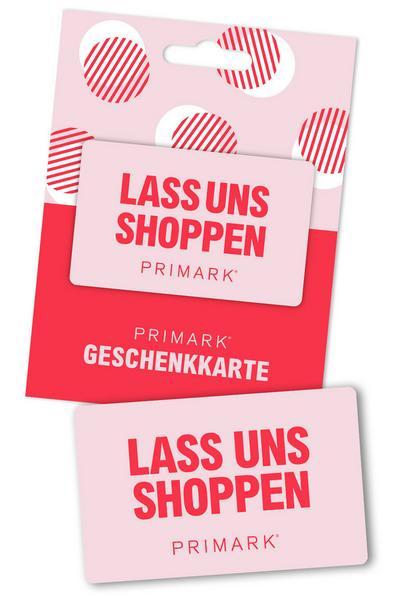 Gutscheinkarte Lass uns shoppen