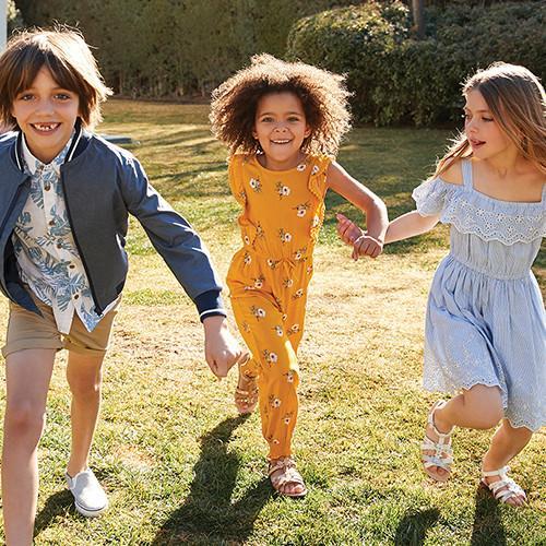 Mode enfant Primark Un naturel ensoleillé