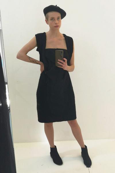 Strappy dress image