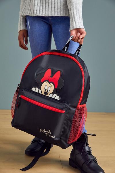 Mochila negra y roja de Minnie Mouse