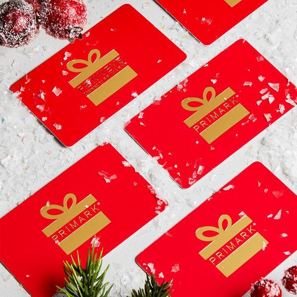 Primark christmas gift card