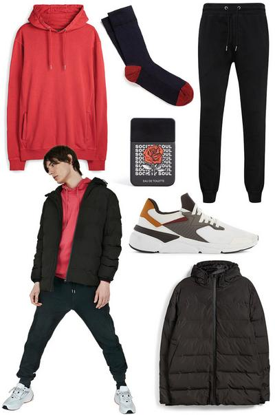 Mens premium basics look1