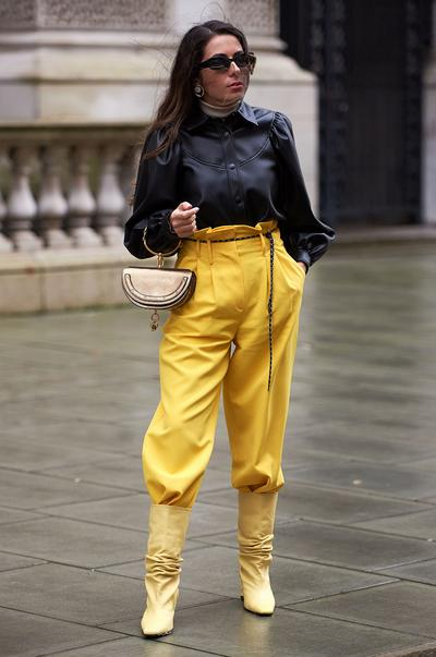 Streetstyles der Londoner Fashion Week