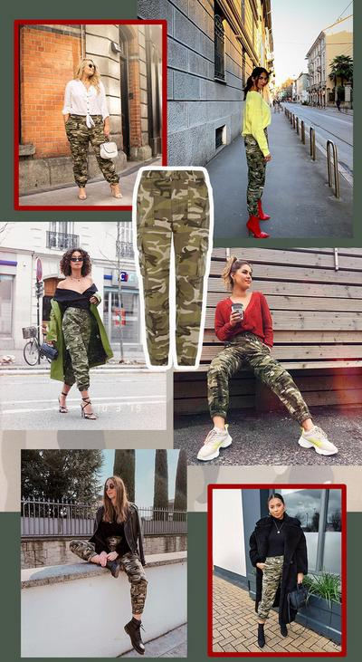 Primark Camo Womenswear image