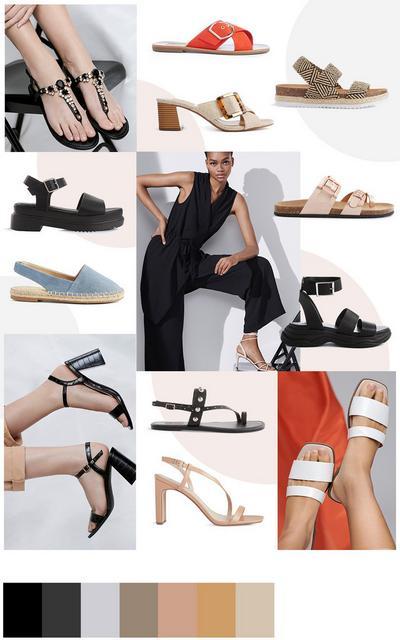Schuhe Collage