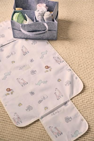 Baby changing mat and baby accessories