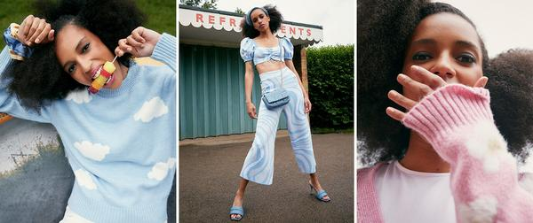 Models wearing Primark womenswear collection
