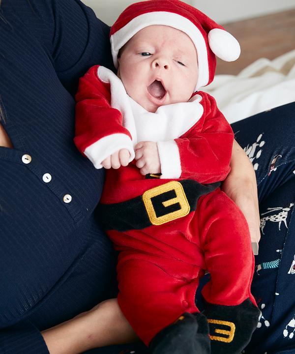 Baby Christmas banner image