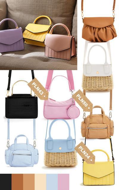 Kolaż – torebki