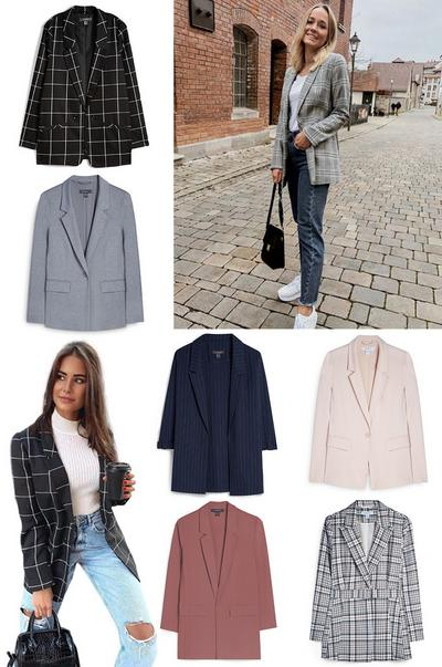 Trending now: blazers collage image