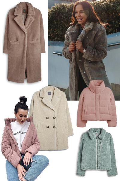 teddy coats trend