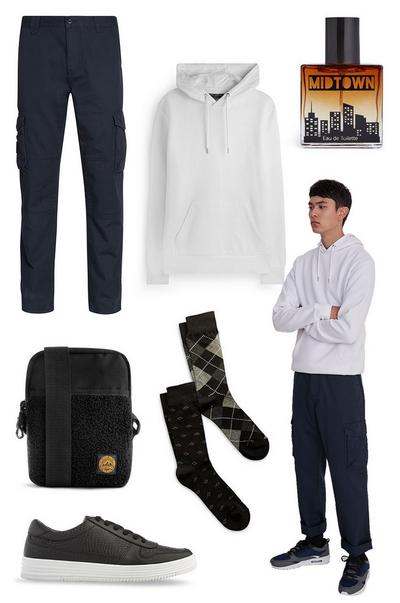 Style clinic: Cargo Trouser collage