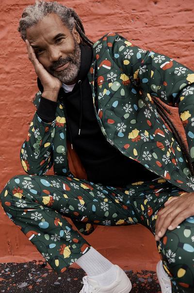 Men's Christmas suit