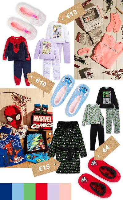 Pyjama-Collage