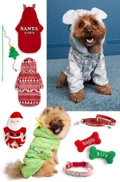 pets xmas photo collage