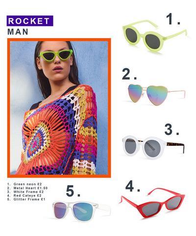 Primark Elton John Sunglasses