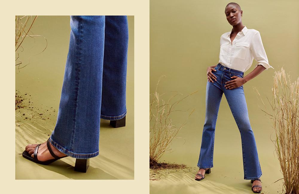 De klassieke flared jeans