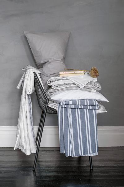 stoel met handdoeken