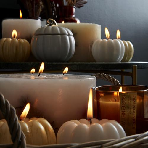 zucche e candele
