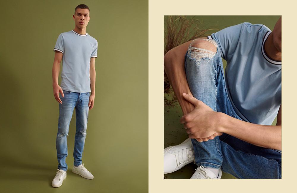 Le jean déchiré