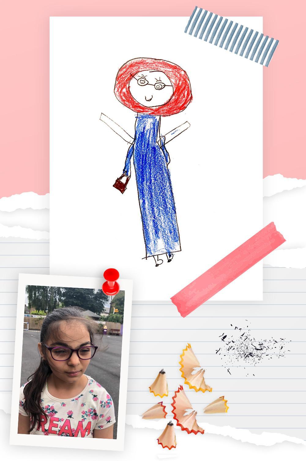 kid 2 drawing