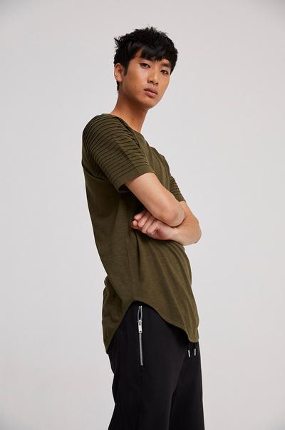 Model in jersey