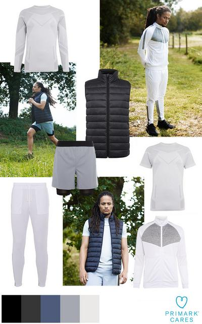 Herren Sportbekleidung Collage