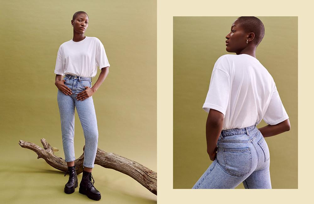 Immagine mom jeans