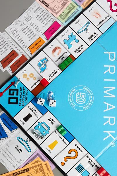 Still Sealed Primark Monoply Board Game