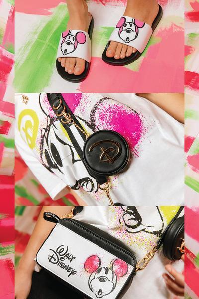 Mickey Mouse Crossbody Camera Bag