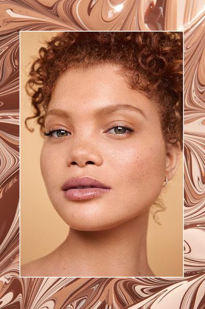 model met primark-make-up