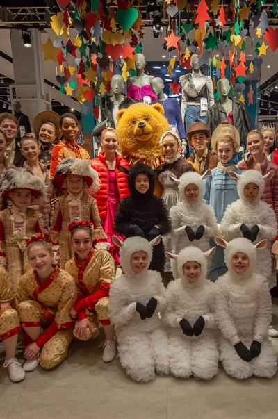 The cast of Nutcracker